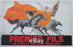 PREMIER FILS Affiche originale entoilée Litho ROBYS 1936