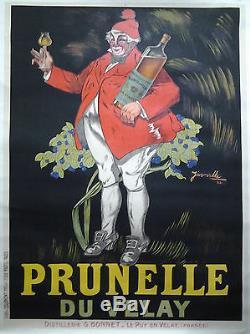 PRUNELLE DE VELAY par J'Arville 1922 AFFICHE ORIGINALE ANCIENNE/38a