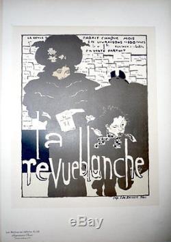 Pierre Bonnard. Les Maitres de l'affiche. La Revue Blanche. 1896