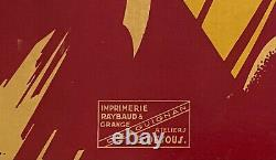 Plm Les Gorges Du Verdon Affiche Ancienne Et Originale 1930