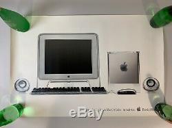 Poster-Affiche Apple Vintage Power Mac G4 Cube Année 2000 90x60 cm Rare