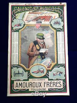 Publicite Agricole 1914. Amouroux Frères. Toulouse. Par SIRVEN. ORIGINAL