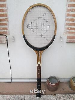 Raquette Tennis Dunlop Enseigne Pub Rare