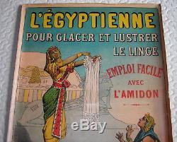 RARE Affiche publicitaire ancienne L'Egyptienne1910/1920