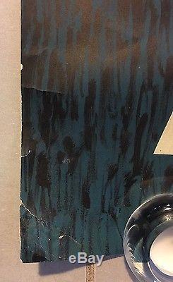 Rare AFFICHE ORIGINALE AIR FRANCE URSS JEAN COLIN P/3.62 Paris Courbet