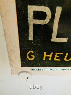 Rare affiche ancienne Tourisme Plombières par Heulun 1926