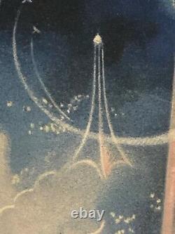 Rare affiche ancienne exposition internationale de Paris 1937 par Beaudoin