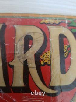 Rarissime Ancienne et originale affiche publicitaire Absinthe vieille PICARD Mar