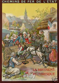 Rauffmann La Bretagne Pittoresque Huelgoat En Route Pour Le Pardon Chemin De Fer