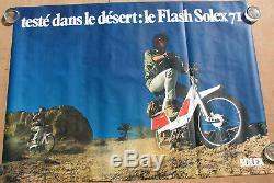 Solex Flash 71. 1 X Affiche Format 157,4 X 115,7 Cm. Envoi Sous Tube