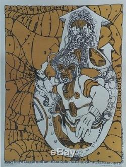 THE DOORS /GRATEFUL DEAD Affiche US originale entoilée Jim SALZER 1967 48x62cm