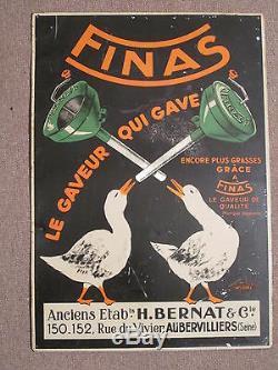Tole Metal Finas Oies Gavage Foie Gras Aubervilliers