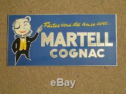 Tole Pub Cognac Martell Bonhomme Monocle Marrant