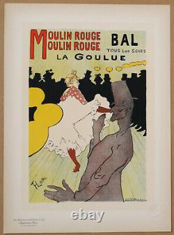 Toulouse Lautrec Moulin Rouge Bal La Goulue Les Maitres De L'affiche Pl. 122