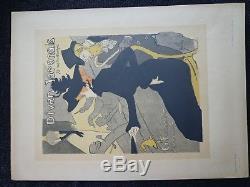 Toulouse-lautrec 1896 Maîtres De L'affiche Divan Japonais