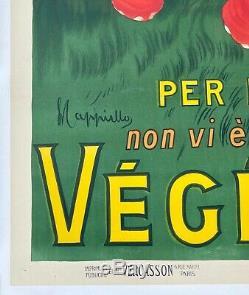 VÉGÉTALINE Affiche lithographiée signée Leonetto Cappiello / 115 x 155cm